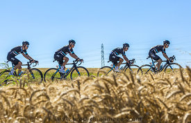Team Sky in the Plain - Tour de France 2016