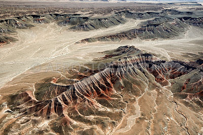 The Tloi Eechii cliffs at  Ward Terrace,  erosional landscape  20 km east of Gray Mountain,  Painted Desert, Navajo Nation,  Arizona, USA.