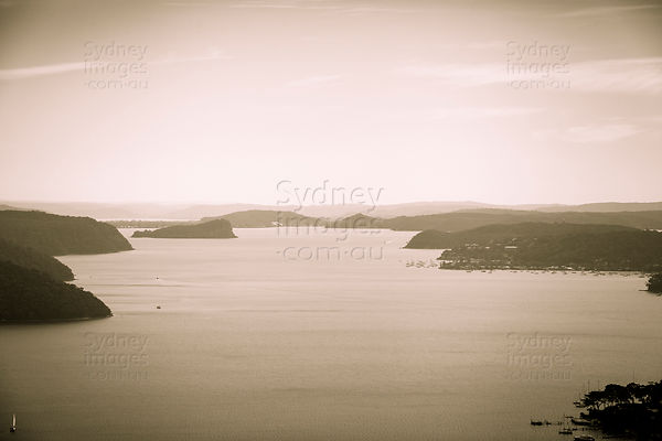 Pittwater and Lion Island