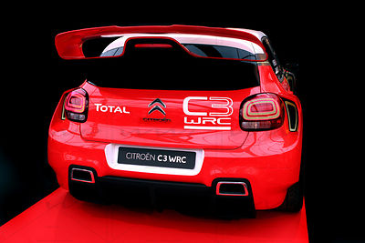 Citroen C3 WRC Rallye car Art Photographs
