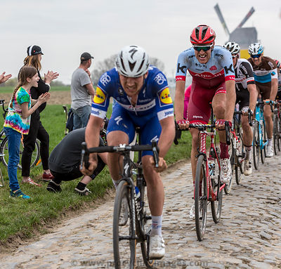 The Cyclist Nils Politt - Paris-Roubaix 2018