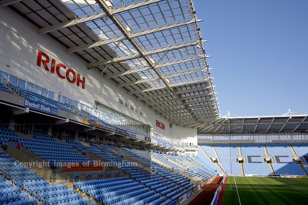 Ricoh Arena, Coventry.  Hotel, conference, show, and sports facilities.  Home of Coventry City Football Club. West midlands, England, UK.