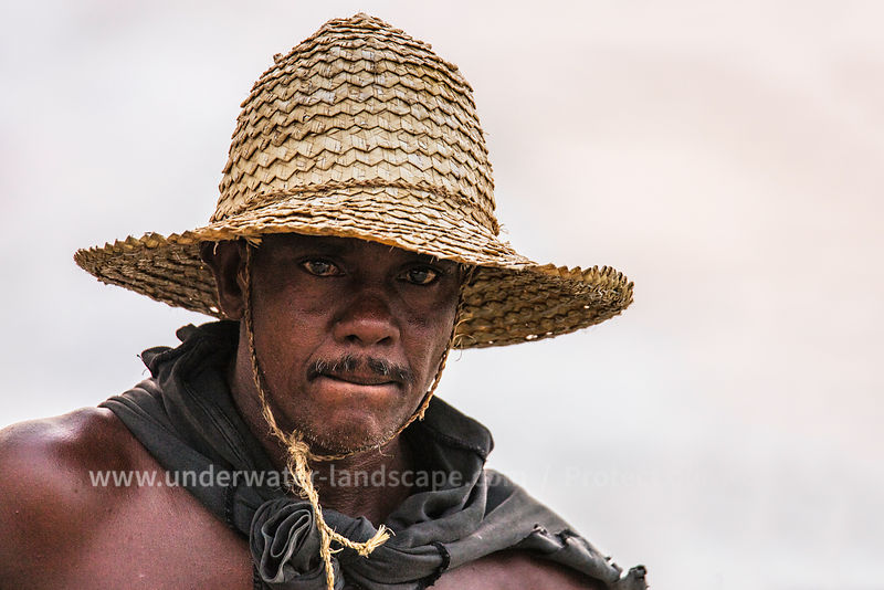 Fisherman Close Up in Sri lanka