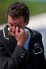 Mark Todd after winning Badminton on NZB Land Vision