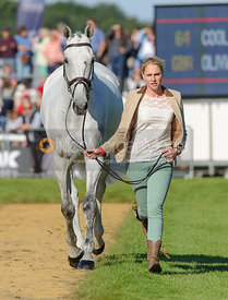 Olivia Wilmot and COOL DANCER - The final trot up, Burghley Horse Trials 2013.
