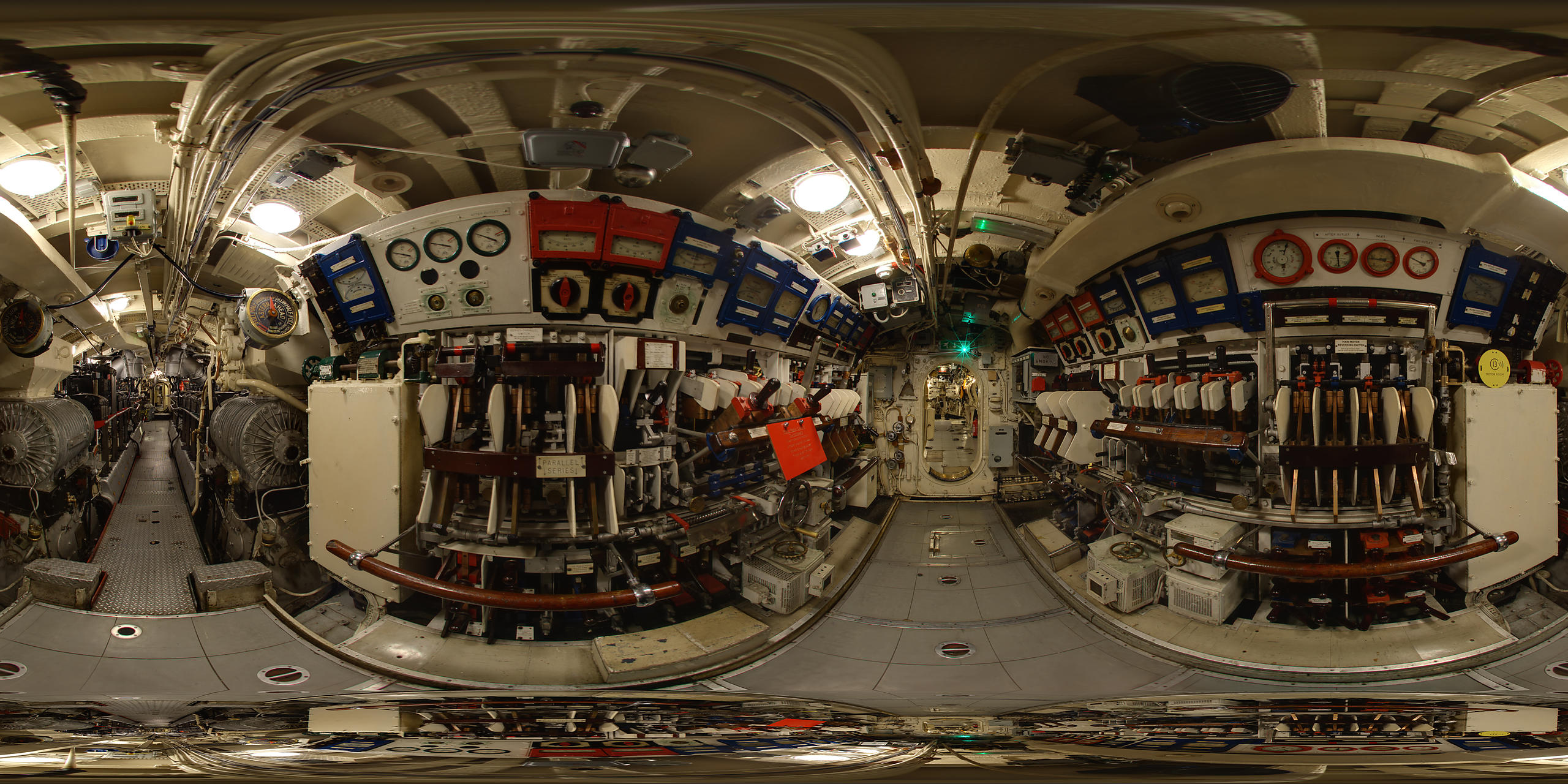 HMS Alliance Interior