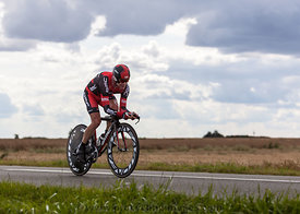 The Australian Cyclist Evans Cadel - Tour de France 2012