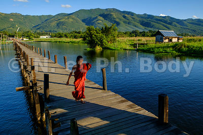 BIRMANIE, LAC INLE,//Myanmar, Inle Lake, Village