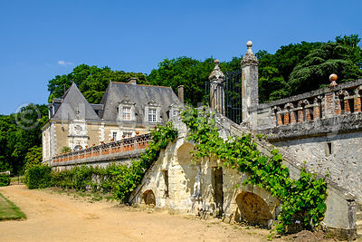 France, Vallée de la Loire, Château de Valmer//France, Loire Valley, Valmer castle