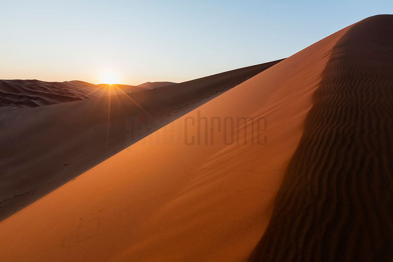 "Sunrise from ""Big Daddy"" Dune"
