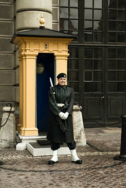 Royal Guard at the Stockholm Palace