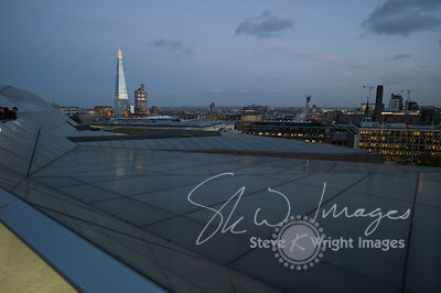 The Shard and London Skyline at Night images