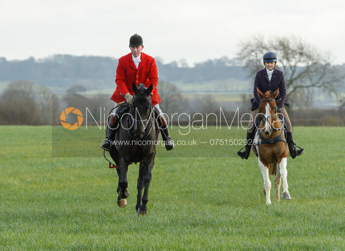 The Belvoir Hunt at Highfield Farm