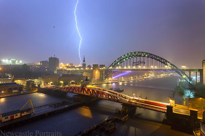 Newcastle Lightning Strike