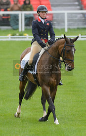 Izzy Taylor and KBIS BRIARLANDS MATILDA - Dressage phase, Mitsubishi Motors Badminton Horse Trials 2014