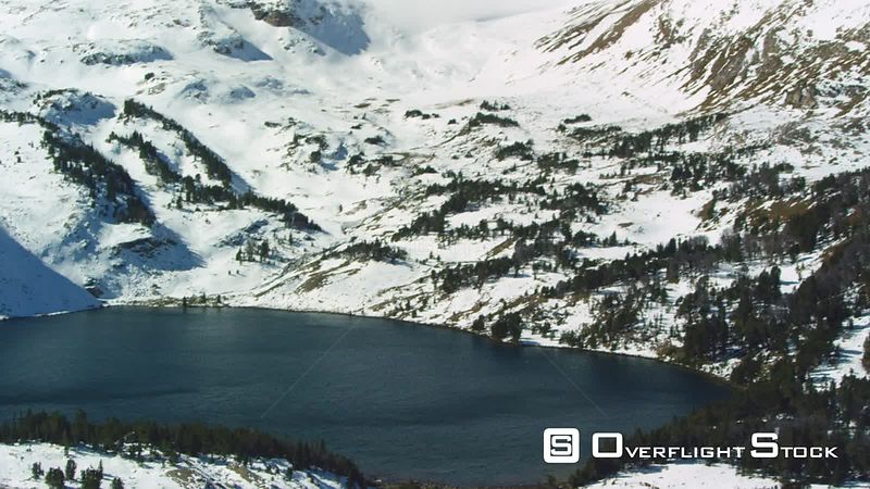 Twin Lakes sit at an elevation of 10,000 feet on the Beartooth Plateau, in the Beartooth mountain range near Yellowstone National Park, in southwestern Montana