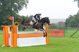 Aoife Clark and VAGUELY NORTH - cross country phase,  Land Rover Burghley Horse Trials, 6th September 2014.