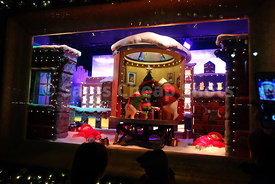 Macy's Herald Square Christmas Holiday Windows Display 2017