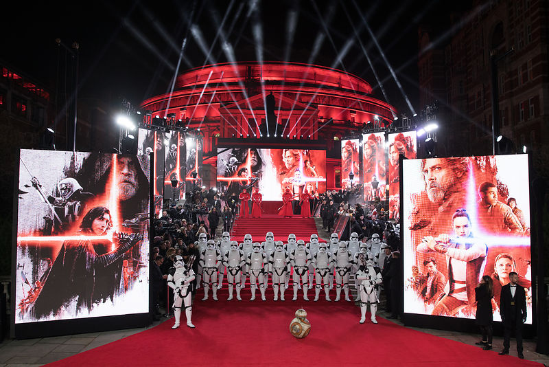 Star Wars - The Last Jedi European Premiere London