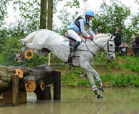 Julie Tew and HHS FORACRUISE - Rockingham Castle International Horse Trials 2016