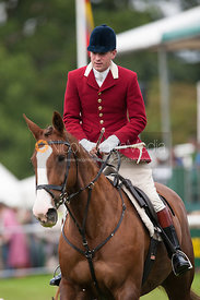 Daniel Cherriman (Pytchley) - Parade of Hounds - Land Rover Burghley Horse Trials, 2nd September 2012.