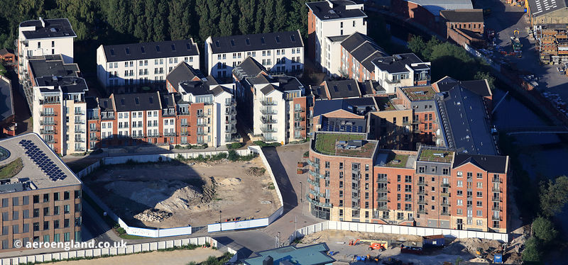 Hungate apartments development  York
