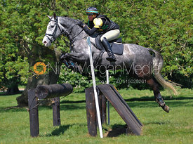Sam Yorke and T.Showtime, Brigstock International Horse Trials 2010