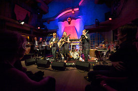 The Heiri Kaenzig Quintet  at Festival da Jazz Live at Dracula Club St.Moritz