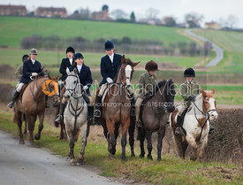 The Cottesmore Hunt at Sawgate Farm 7/1/12
