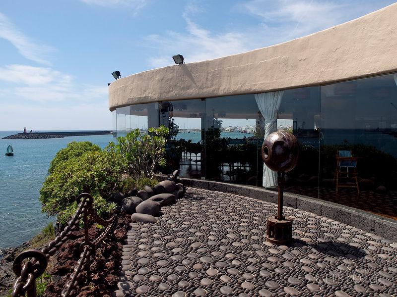 Castillo de san jose restaurant lanzarote webcam