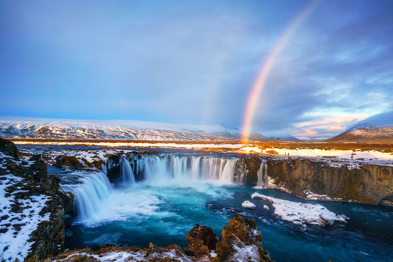 Godafoss Rainbow