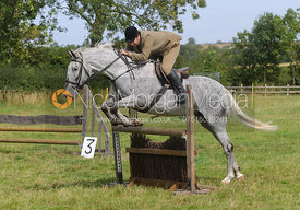 Russell Cripps - Cottesmore Hunt Relay, The Kennels, Ashwell, 1st September 2013.