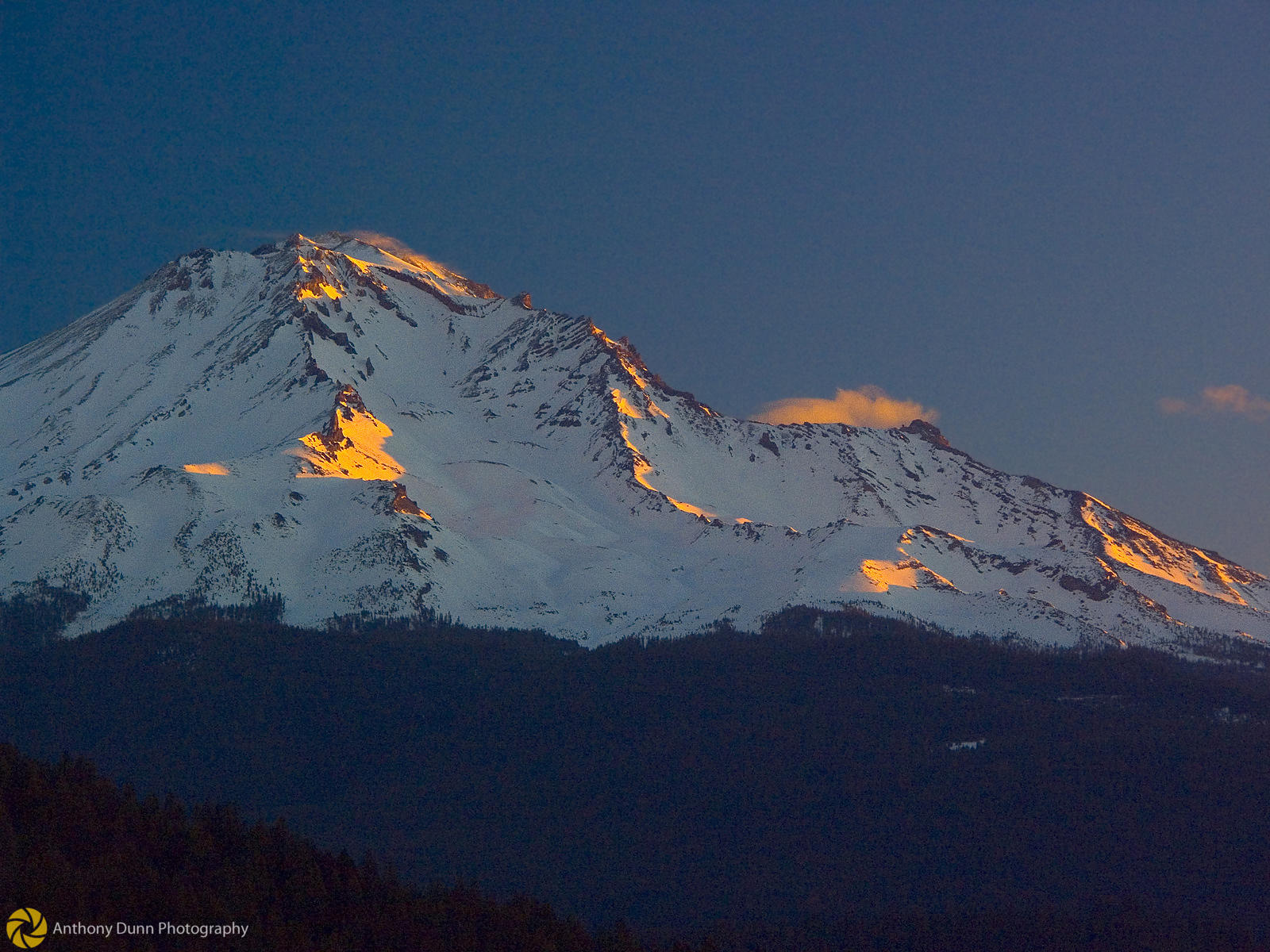 Sunrise on Mt. Shasta #1