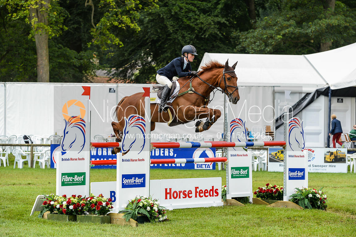 Eliza Stoddart and DICK O'MALLEY, Bramham Horse Trials 2018