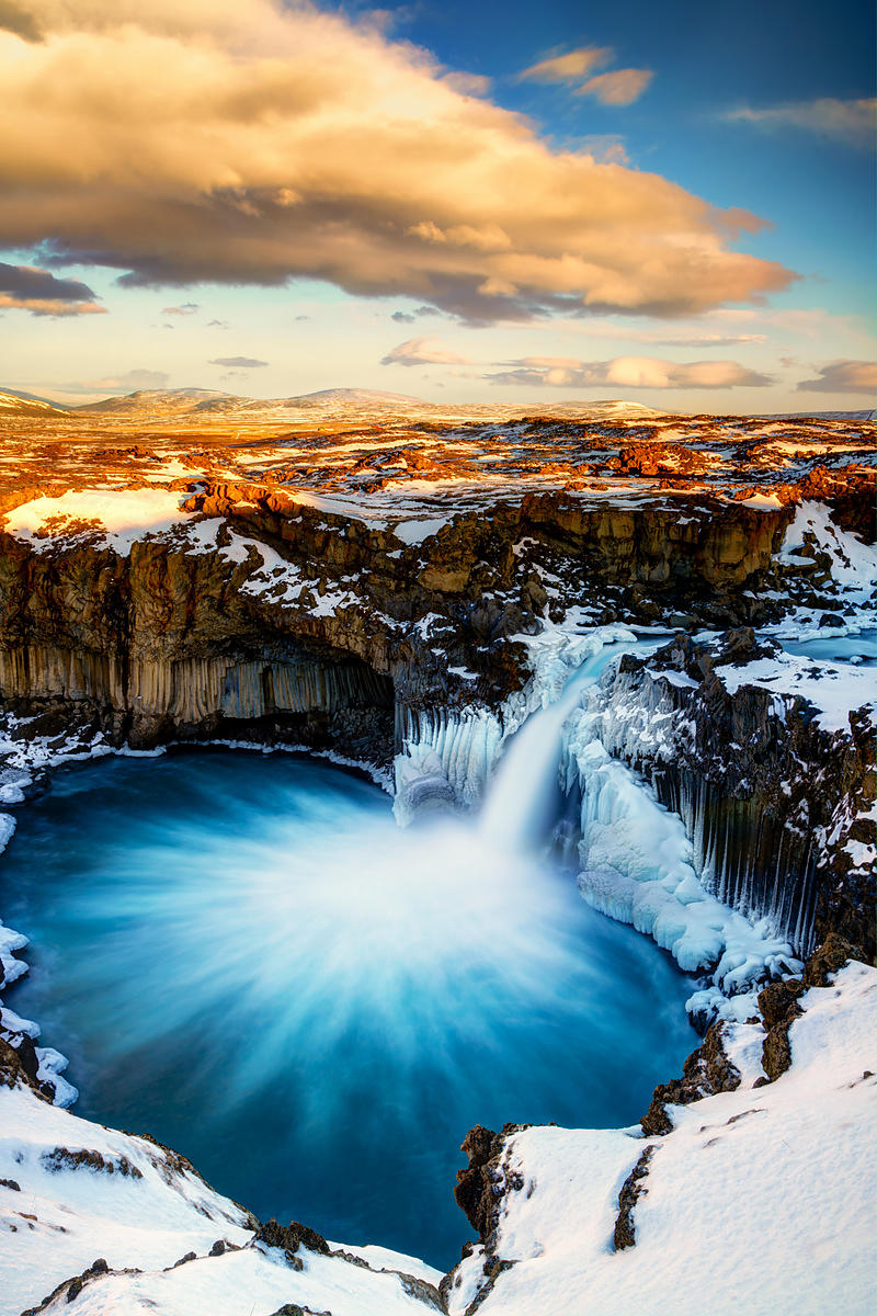 Glowing Aldeyarfoss