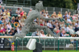 The Hurdler - dressage phase,  Land Rover Burghley Horse Trials, 4th September 2014.