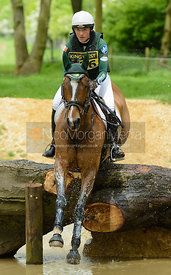 Aoife Clark and KINGS ADVOCATE II - Rockingham Castle International Horse Trials 2016