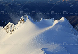 Wind Swept Ridge on Kokanee Glacier Kootney Region BC