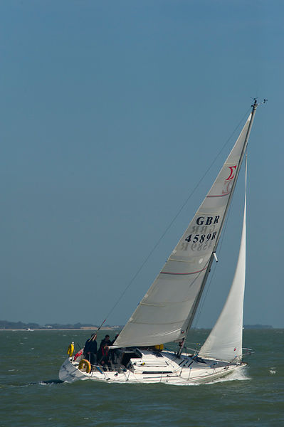 GBR 4589R Prospero of Hamble Sigma 33