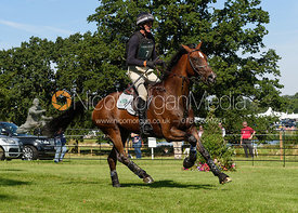 Mark Todd and NZB CAMPINO, cross country phase, Land Rover Burghley Horse Trials 2018
