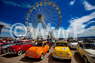 Meeting Fiat 500 Saint-Raphaèl 2018 Art Photographs