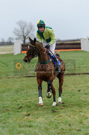 Cantering down - Restricted - Cottesmore at Garthorpe