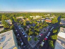 Aerial View of Chico's Thurday Market #2