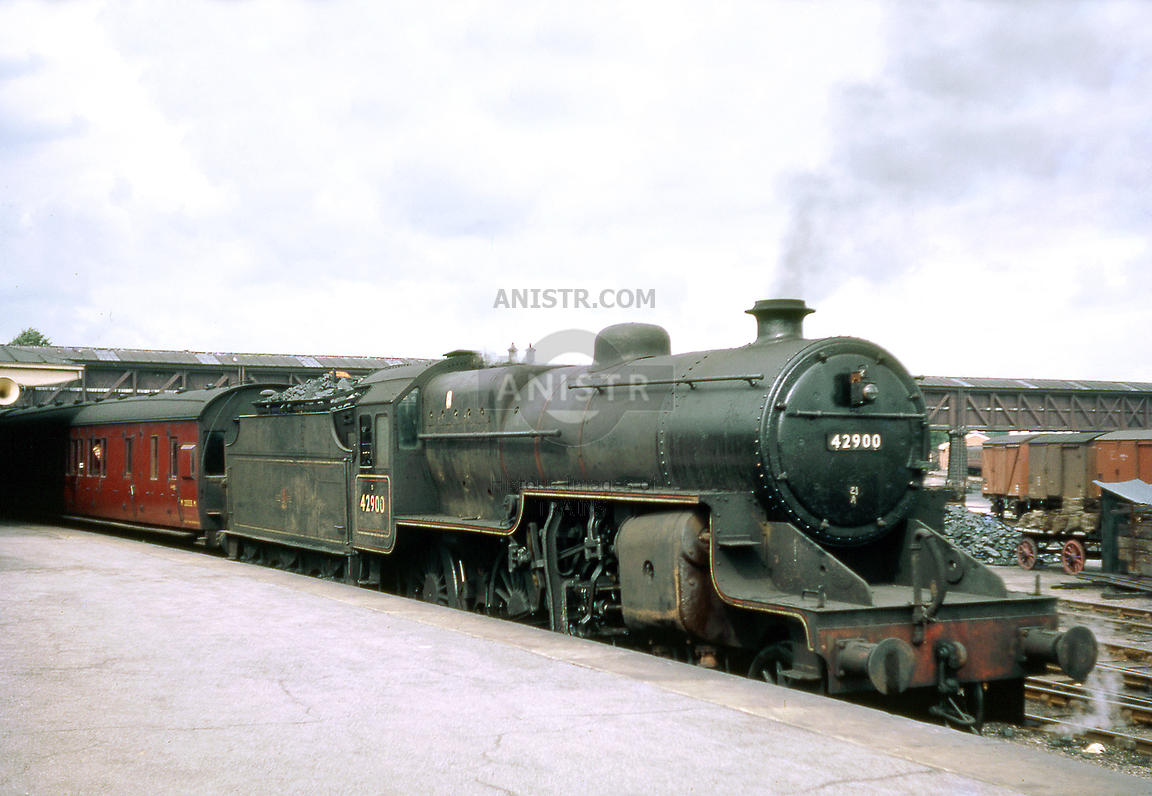 Steam loco Crab 42900 Gloucester Eastgate