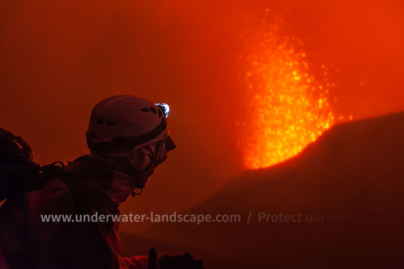 Eruption May 2015, La Fournaise éruption