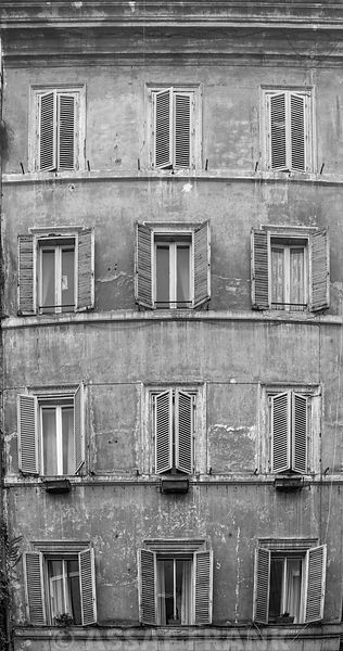 Old building in Rome, Italy