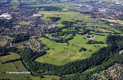 Marland Golf Course  from the air