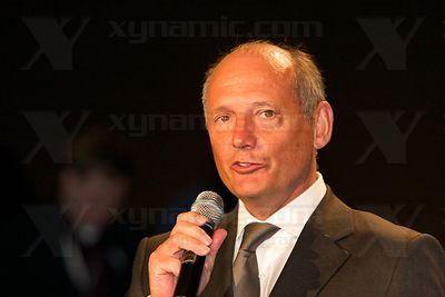 Ron Dennis (GBR), McLaren MP4-23 Launch, Stuttgart, 7th January, 2008