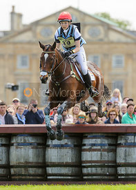 Charlotte Agnew and OUT OF AFRICA TWO - Cross Country - Mitsubishi Motors Badminton Horse Trials 2013.