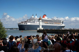 The Bridge 2017 - Saint-Nazaire le 24/06/2017 - Arrivée du Queen Mary 2